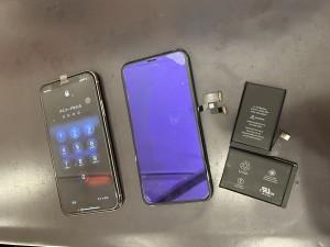 iPhoneX 画面修理 バッテリー交換