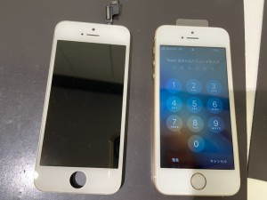 iphoneSE 液晶故障修理
