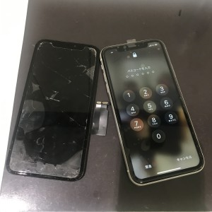 iPhone11 画面修理