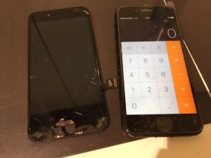 iphone7 液晶故障修理