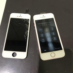 アイフォンSE ディスプレイ交換修理